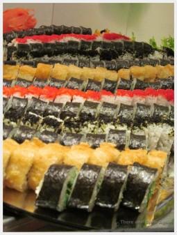 HAL cruises Sushi on the Buffet, Holland America Eurodam HAL cruises