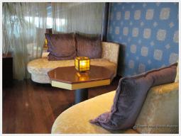 The Silk Den Bar on the Eurodam HAL cruises