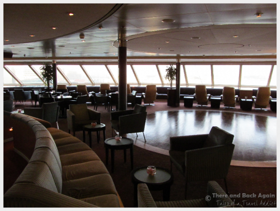 The Crows nest Lounge on the Holland America Line MS Eurodam