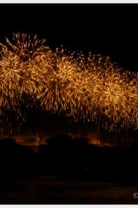 Bastille Day Fireworks in Carcsonne France