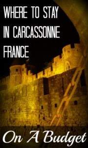 Carcassonne Castle at Night