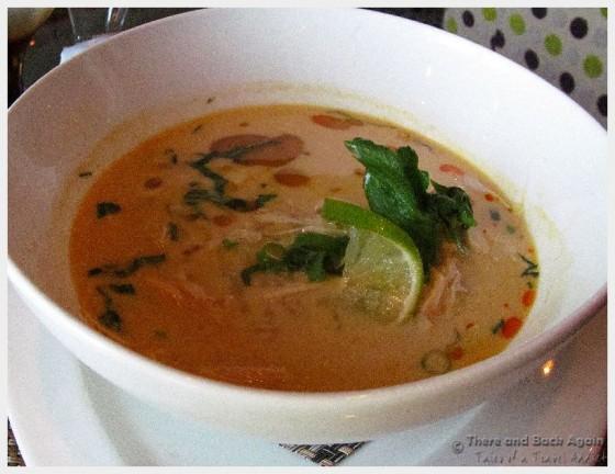 Dinner at Tamarind, MS Eurodam (Chicken Pho Soup, yum!)