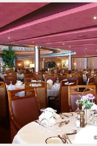 The Main dining room on Holland America