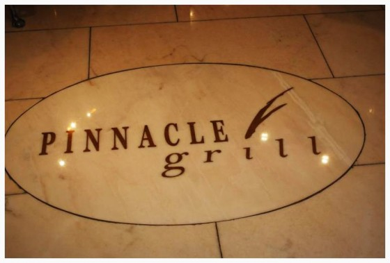 Holland America Dining Holland America Pinnacle Grill Pinnacle Grill Sign