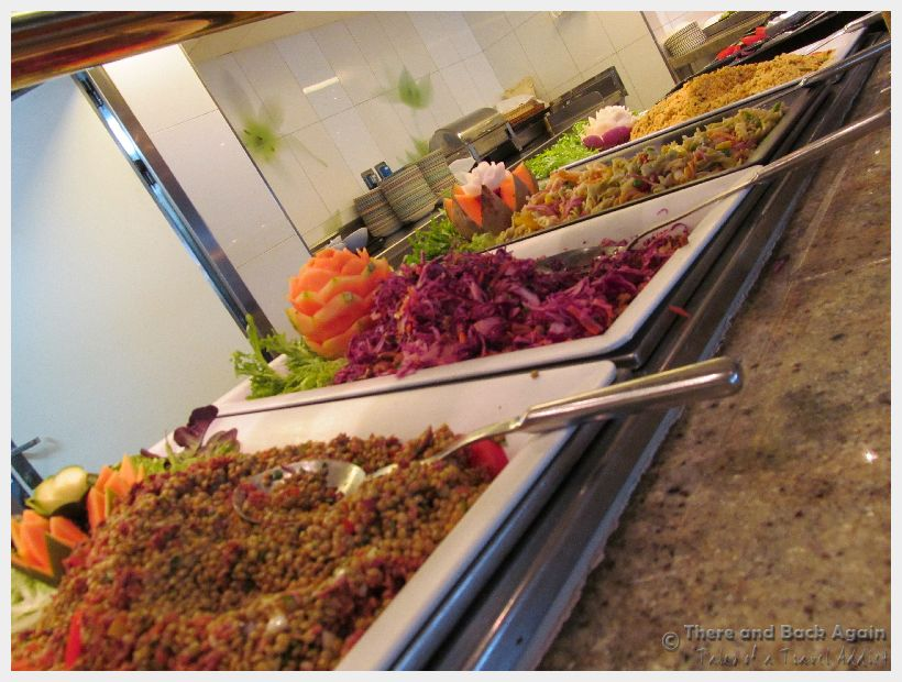 Cruise Tips Salad Buffet, Holland America Eurodam - what not to eat on a cruise ship