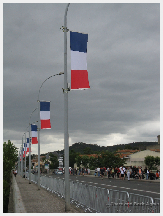 Carcassonne France on Bastille Day