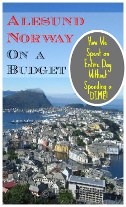 Coming to Alesund Norway on a cruise? Looking for things to see in Alesund Norway on a budget? What we saw in Alesund without spending a dime!