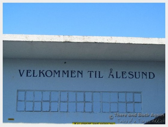 Welcome to Alesund Norway
