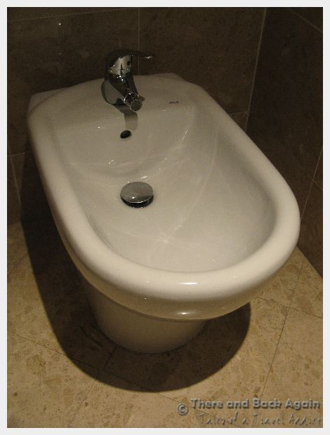 Bidet in France