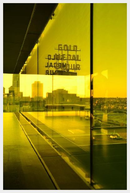 Minneapolis Skyline Reflection