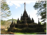 A 1,000 year old wat near Chiang Dao Nest, Thailand