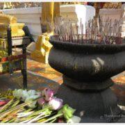 Worship At Doi Suthep, Chiang Mai, Thailand