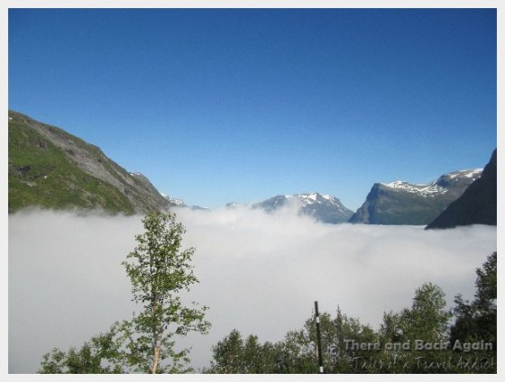 Geiranger Norway Above Clouds