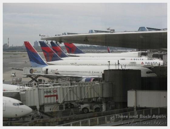 Airplanes in JFK