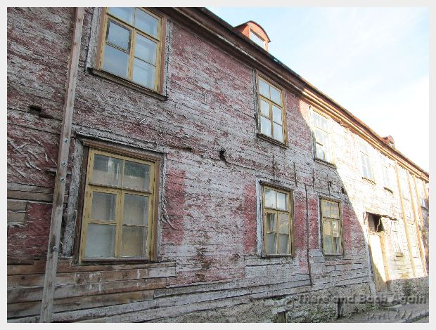 Weathered Building Talinn Estonia