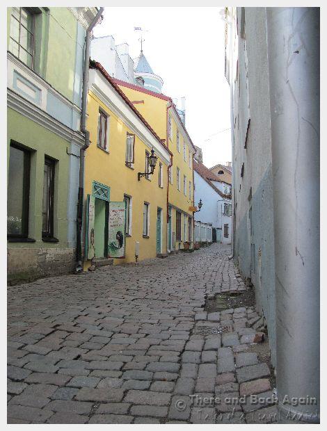 Talinn Estonia Street Scene