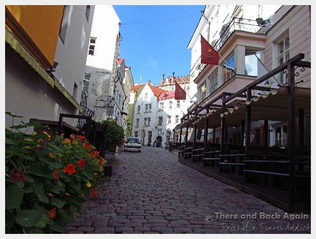 Street Scene Talinn Estonia