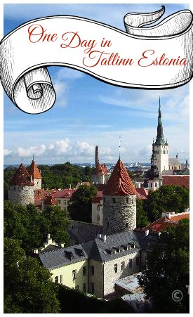 Tallinn Estonia is a picturesque city on the Baltic sea.  It is awash with super cute streets, cafes and shops.  Spending one day in Tallinn is like stepping into your own personal fairy tale!  A truly amazing city!