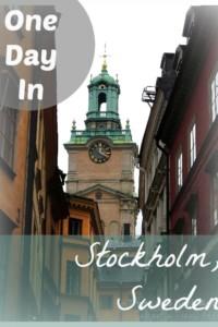 Stockhom Sweden Street
