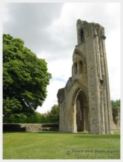 The Ruins of Glastonbury Abbey, England