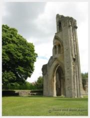 The Ruins of Glastonbury Abbey, England