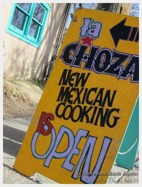 La Choza Reastaurant in Santa Fe, NM