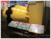 """A replica of """"Fat Man"""", the bomb that was dropped on Nagasaki, Japan."""