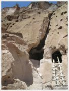 Bandelier New Mexico Cliff Dwelling 1