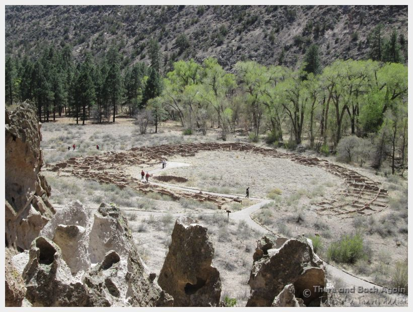 Things To Do In Santa Fe Ancient Cliff Dwellings In
