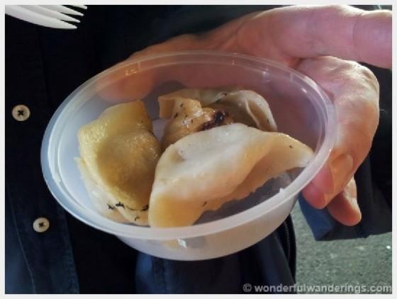 borough market dumplings