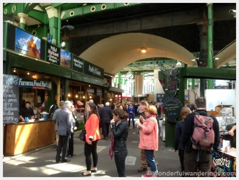 Markets of the world borough market london there and back again