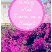 Things to do in Nice France on a Budget