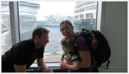 Traveling with kids on a cruise ship