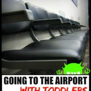 Traveling with children through the airport