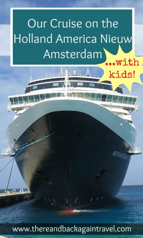 A detailed review of our Holland America cruise on the MS Nieuw Amsterdam to the Carribbean ports of Grand Turk, San Juan, St Thomas and Half Moon Cay
