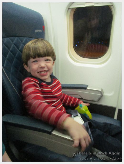 traveling with a toddler on an airplane
