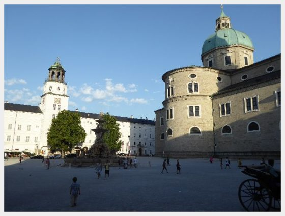 Salzburg Attractions - The Domplatz