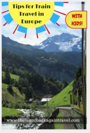 Train Travel in Europe with Kids