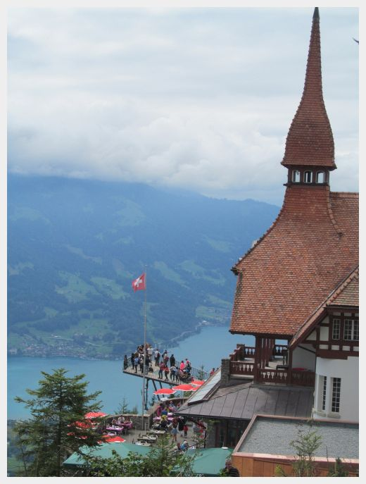 Harder Kulm Inerlaken - where to base yourself in Switzerland