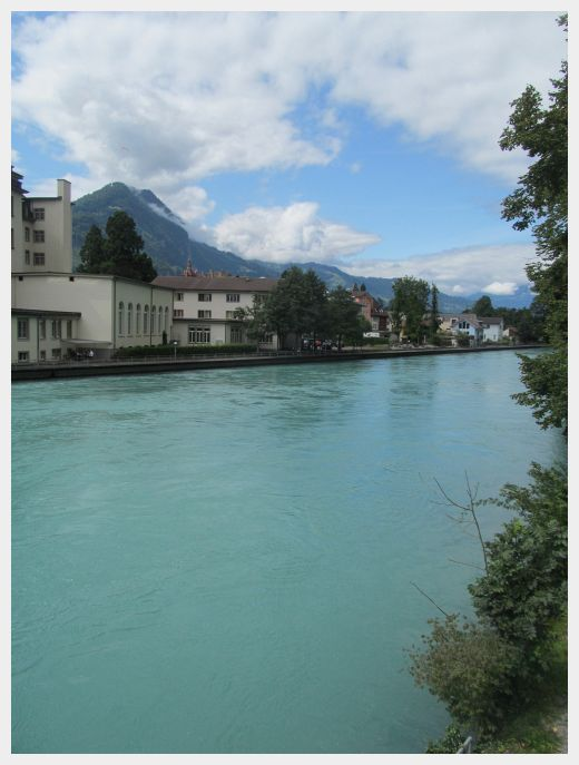 Interlaken River - where to base yourself in Switzerland