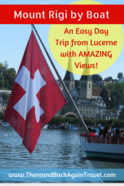 Lucerne to Rigi By Boat