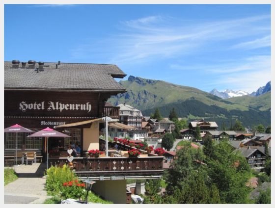 Murren Switzerland - where to base yourself in Switzerland