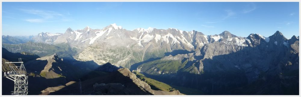 Schilthorn panorama - best mountain views in Switzerland